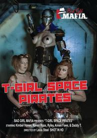 T Girl Space Pirates